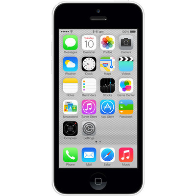 Apple IPhone 5C (8 GB) (White)