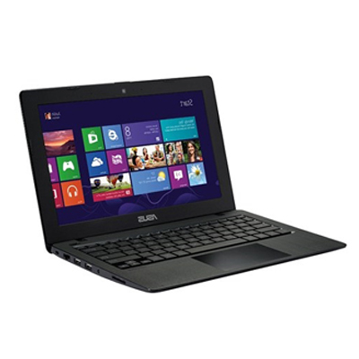 Asus X Series Notebook X200MA - KX141D (Celeron Quad Core M3250U -500 GB -2 GB -11.6 Inch HD Glare -DOS -INTEL HD 4000 ) (Black)