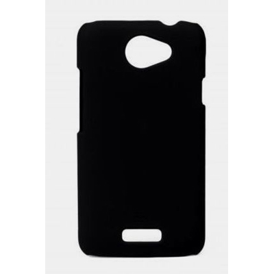 BHAVTAV Black Ultra Thin Rubberized Matte Hard Case Cover For Htc One X S720E (Black)