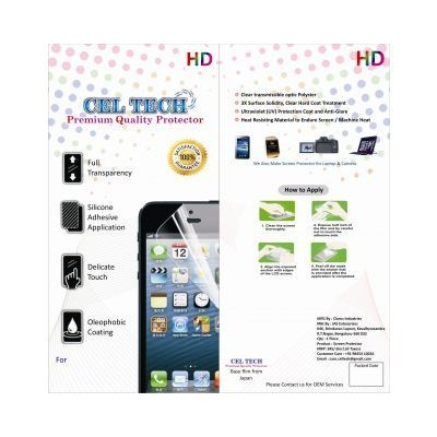 Celtech Clear Screen Guard For Samsung Galaxy S Duos S 7562