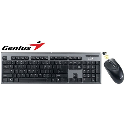 Genius SlimStar 801 USB 2.0 Keyboard And Mouse Combo