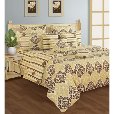 Swayam Single Bed Sheet With One Pillow Cover - 274989