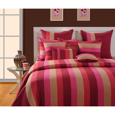Swayam Single Bed Sheet With One Pillow Cover