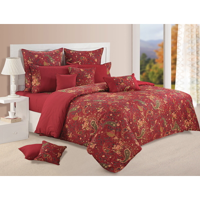 Swayam Single Bed Sheet With One Pillow Cover - 275003