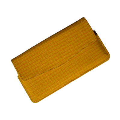 IKitPit PU Leather Pouch Case Cover For Micromax Canvas Magnus A117 (YELLOW)