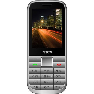 Intex Yuvi Pro Mobile Phone (Silver)