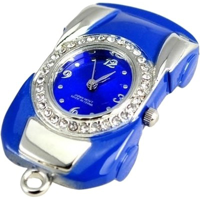Microware Blue Car with Watch Shape 8GB Pen Drive
