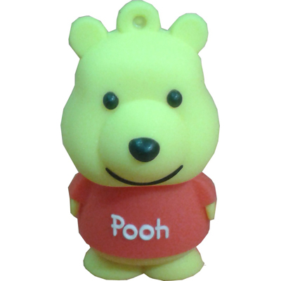 Microware Pooh New Shape 32GB Pen Drive