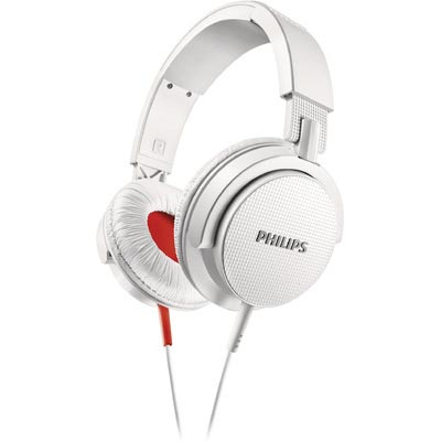 Philips SHL3105WT/00 Over-the-ear Headphone (White)