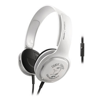 Philips SHO3305STKR/00 Wired Headset (White)