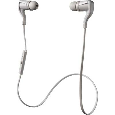 Plantronics BBTGO2-BLK W BackBeat Go 2 Stereo Bluetooth Headset with Charging Case - 344978