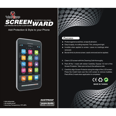 SCREENWARD Screen Protector Scratch Guard For Sony Xperia Sola MT27i