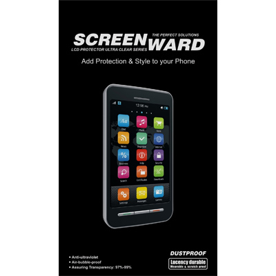 SCREENWARD Screen Protector Scratch Guard For Sony Xperia Tipo ST21i