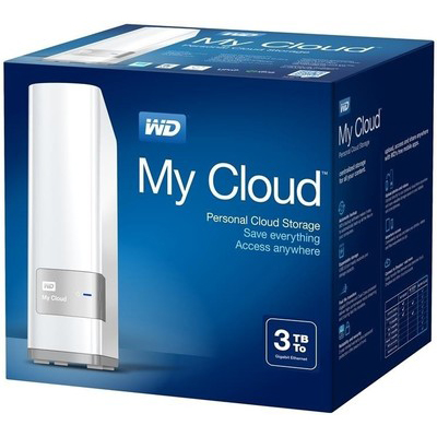 WD My Cloud Personal Storage 3.5 Inch 3 TB Network Hard Disk (White)