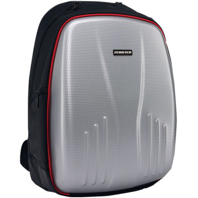 Zebronics 15.6 Inch ZEBSTER ZEB-BP5000 Laptop Backpack (Black & Silver)