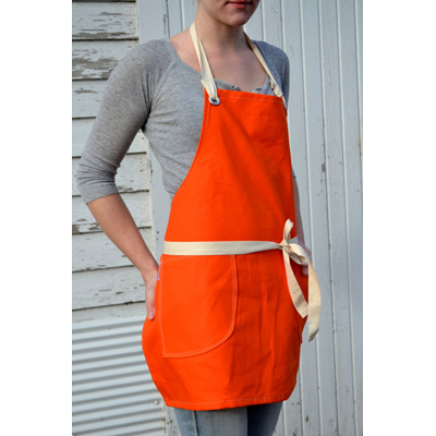 My Gift Booth Orange Apron