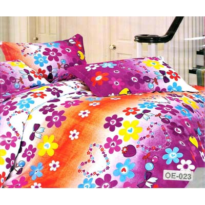 Flano Premium Single Bed Sheet With One Pillow Cover - 2143472