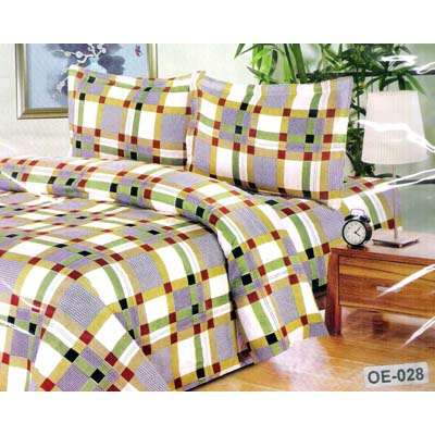 Flano Premium Single Bed Sheet With One Pillow Cover - 2143475