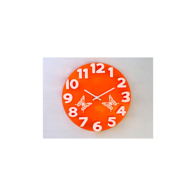 Panache 3D With Butterfly Wall Clock - 1739918