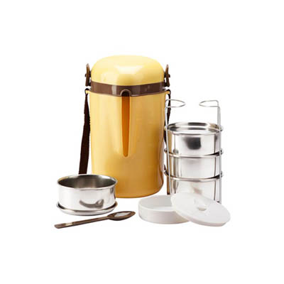 Milton Meal Mate Tiffin With 4 Containers