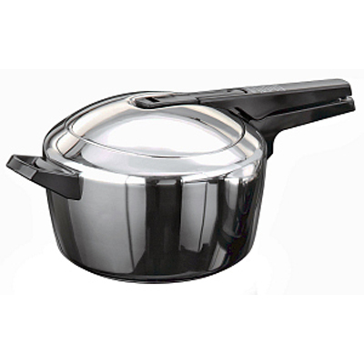 Hawkins Futura Stainless Steel Pressure Cooker- 5.5 Litre