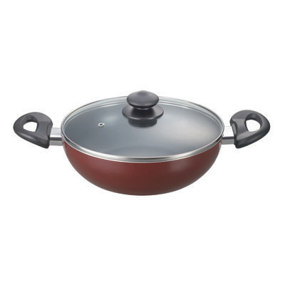 Prestige Omega Deluxe Cookware Kadai 260 Mm With Lid