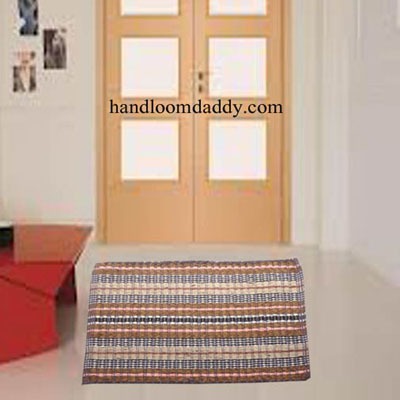 Handloomdaddy Pack Of 2 Pcs Attractive Velvet Door Mat(104)