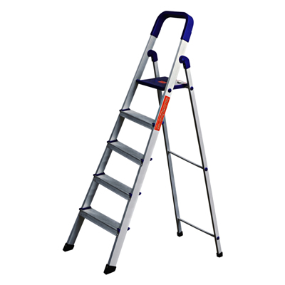 Cipla Plast Folding Aluminium Ladder Home Pro 5 Steps