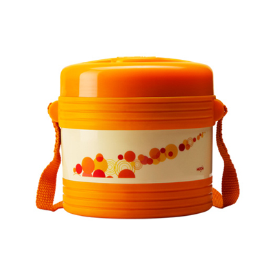 Milton Vector Red Lunch Box (Capacity 2 Containers)