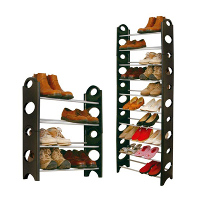Kawachi Convertible Lightweight 10 Tier Shoe Rack Organise