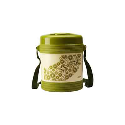 Milton Vector Green Lunch Box (Capacity 2 Containers)