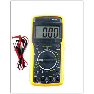 Branded Lcd Digital Voltmeter Ohmmeter Ammeter Ohm Multimeter