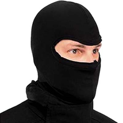 Probiker Black Full Face Balaclava