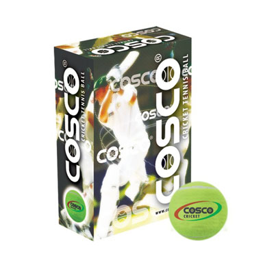 Cosco Tuff Cricket Tennis Ball (Pack Of 6)