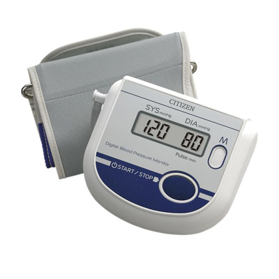 Citizen Upper Arm Digital Blood Pressure Monitor With Pulse Reading (Ch-452)