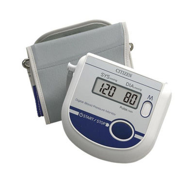 Citizen Upper Arm Digital Blood Pressure Monitor With Pulse Reading (Ch-453)