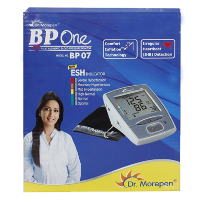 Dr Morepen Bpone Automatic Upper Arm Digital Blood Pressure Monitor (Bp-07)