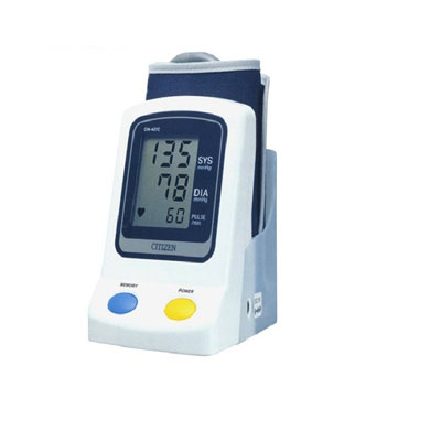 Citizen Upper Arm Digital Blood Pressure Monitor With Pulse Reading (Ch-437C)